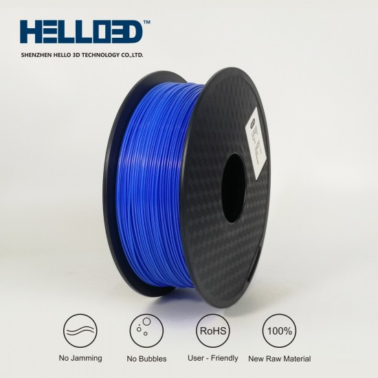 Blue - HELLO3D PREMIUM PETG Filament 1.75mm - 1KG