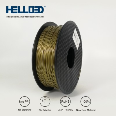 Bronze - HELLO3D PREMIUM PLA  Filament 1.75mm - 1KG
