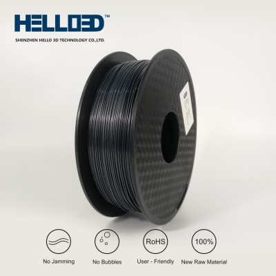 Graphite - HELLO3D PREMIUM PLA  Filament 1.75mm - 1KG