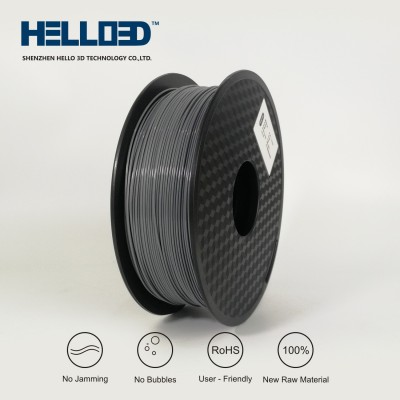 Grey - HELLO3D PREMIUM PETG Filament 1.75mm - 1KG