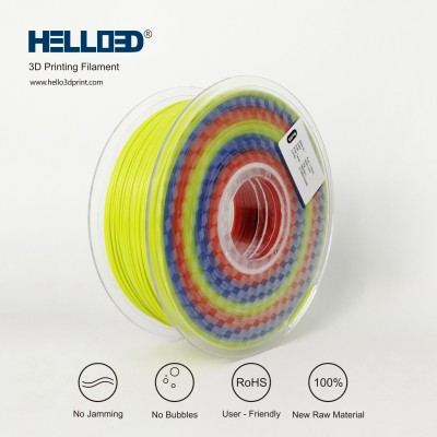 Rainbow - HELLO3D PREMIUM PLA  Filament 1.75mm - 1KG