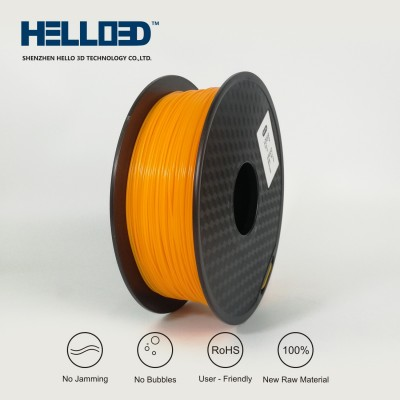 Orange - HELLO3D PREMIUM PLA  Filament 1.75mm - 1KG