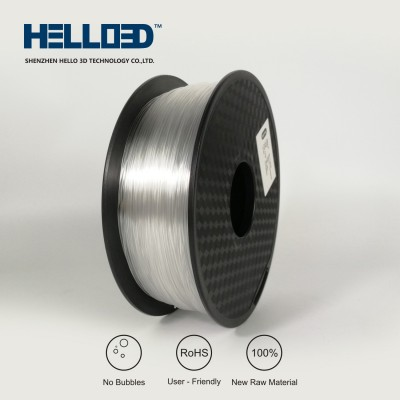 Transparent - HELLO3D PREMIUM PC Filament 1.75mm - 1KG