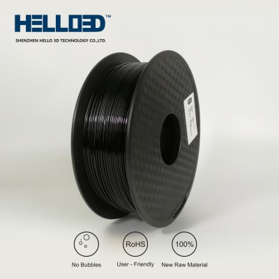Black - HELLO3D PREMIUM PETG Filament 1.75mm - 1KG