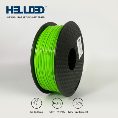 Green - HELLO3D PREMIUM PETG Filament 1.75mm - 1KG