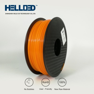 Orange - HELLO3D PREMIUM PETG Filament 1.75mm - 1KG