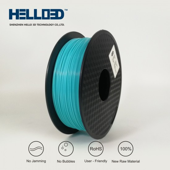 Sky blue - HELLO3D PREMIUM PLA  Filament 1.75mm - 1KG