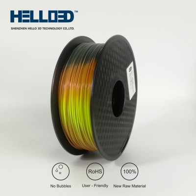 Lava (tricolor change) - HELLO3D PREMIUM PLA  Filament 1.75mm - 1KG