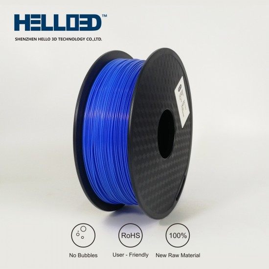 Blue - HELLO3D PREMIUM ABS Filament 1.75mm - 1KG