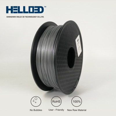 Silver - HELLO3D PREMIUM ABS Filament 1.75mm - 1KG