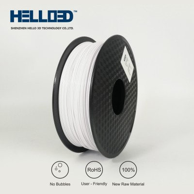 White - HELLO3D PREMIUM ABS Filament 1.75mm - 1KG