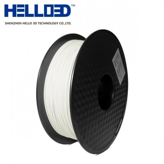 MATTE - Milk White - HELLO3D PREMIUM PLA  Filament 1.75mm - 1KG
